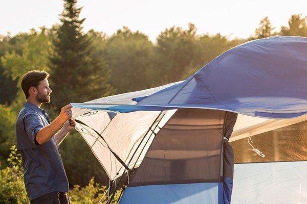 cách dựng lều